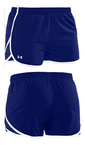 short under armour tg azul escape 3  talle s dama - dracma