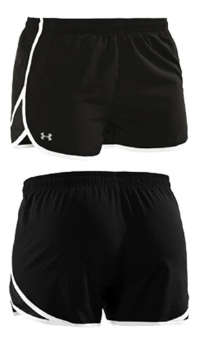 short under armour tg negro escape 3  talle s dama - tecsys