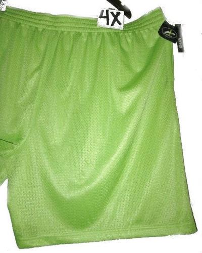 short verde esmeralda deportivo de hombre talla 4x athletch