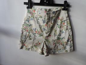 83c5f0409 Short Zara España Made In Morocco Mujer Estampado Algodon