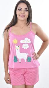 2c5142c11 Lojas Havan Baby Doll Pijamas - Roupa de Dormir para Feminino no ...