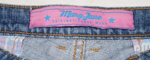 shortinho jeans mary jane - nº 38