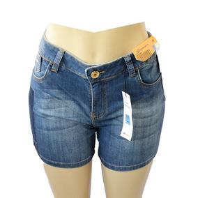 ebe816f58 Short Jeans Boyfriend Shorts - Shorts para Feminino Azul escuro no ...