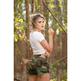 d0c4bf0166 Blazer Feminino Para Usar Com Bermuda - Shorts Verde em Goiás no ...