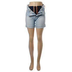 edc9f0f2c3 Shorts Jeans Feminino Super Lipo Cintura Alta Sawary Top
