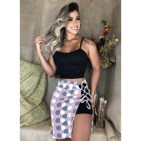 724c44086c0 Conjunto Cropped Saia Adidas Tamanho U - Short U no Mercado Livre Brasil
