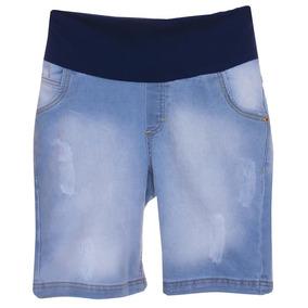 3ac3a1457 Bermuda Social Para Gestante Do - Shorts para Feminino no Mercado ...