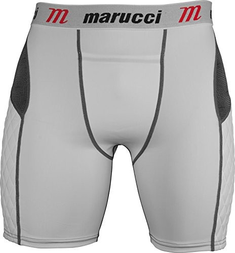 shorts acolchados marucci youth elite con copa