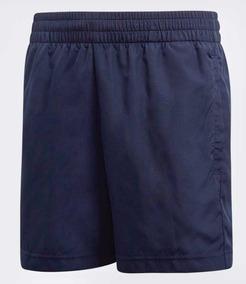 Adidas Shorts Azul Niño Para Tennis Club Corto RjL5A3q4