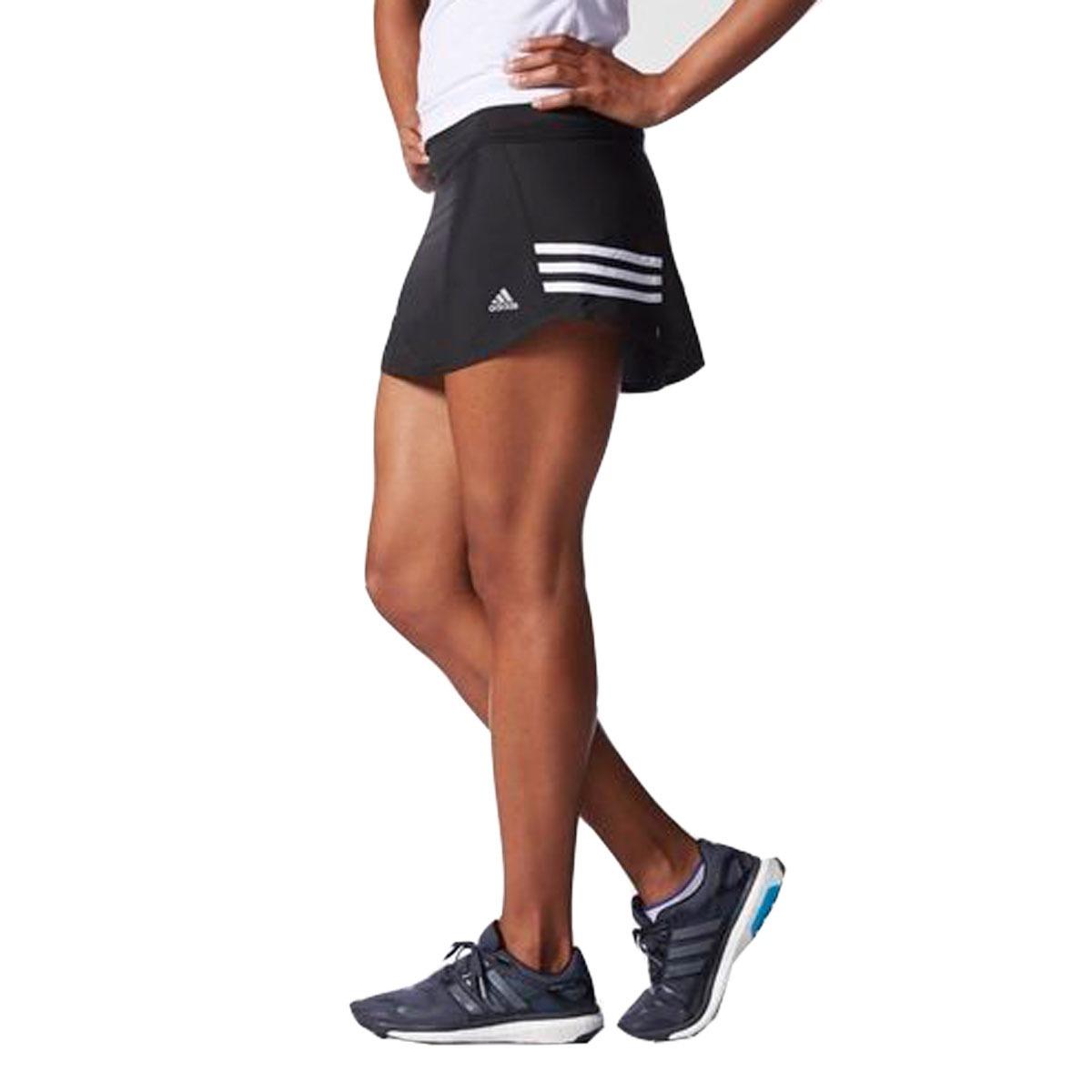 Saia Shorts Fitness adidas Feminino Preto Original Esportivo - R ... 273c6ea68ed8f