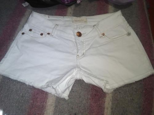 shorts adolecentes tallas 36