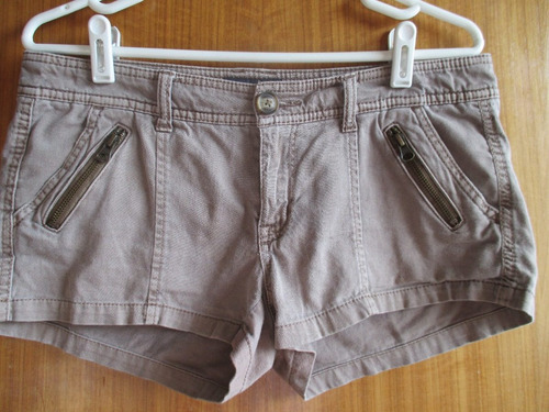 shorts american eagle marrones 88cm talla 8