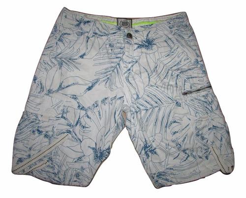 shorts bermuda masculina jeans sarja