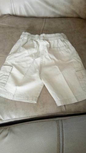 shorts bermuda nautica talla  24 month (talla2/3)