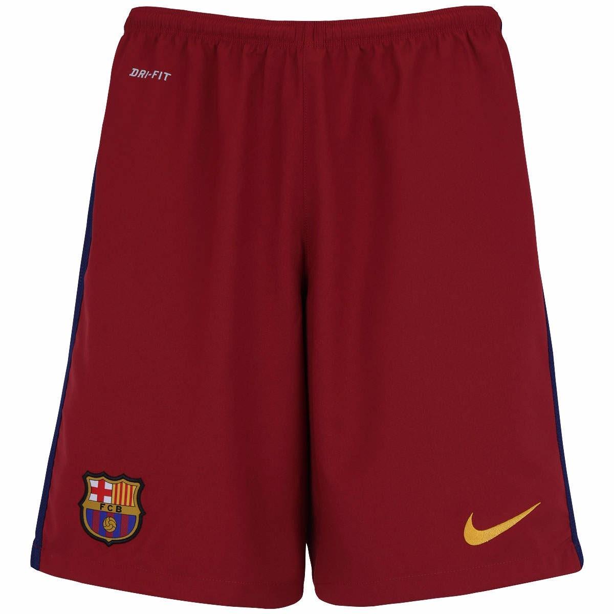 f550a9c64d Shorts Calção Do Barcelona Novo Bermuda Jogador De Futebol - R  69 ...