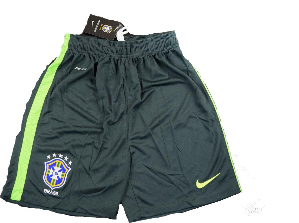 b365fee4ecf76 shorts calção seleção brasil treino 2017 2018 frete grátis. Carregando zoom.