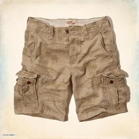 Shorts Estampado Caqui Talla30 Hollister Abercrombie Cargo MqUSpzV