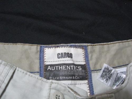 shorts cargo levis strauss signature talla w40