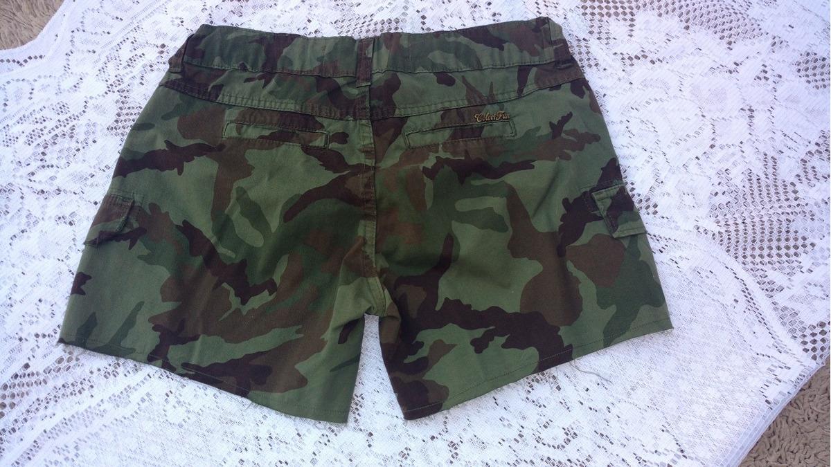 7ef2ec35f Shorts Colcci 38 Camuflado - R$ 130,00 em Mercado Livre