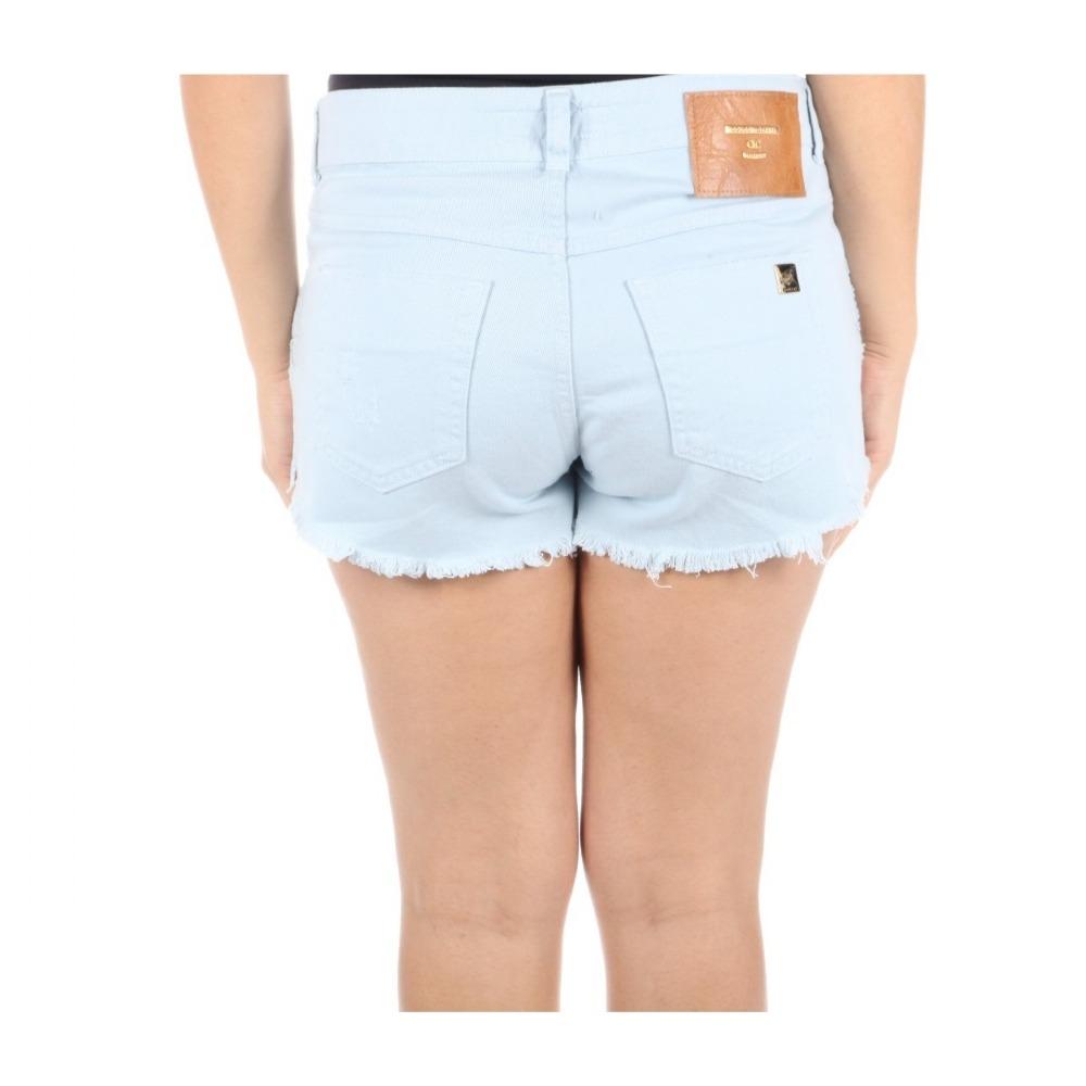 3f577879b Shorts Colcci Feminino Em Sarja Tomboy 2 Com Detalhe Puído - R$ 261 ...