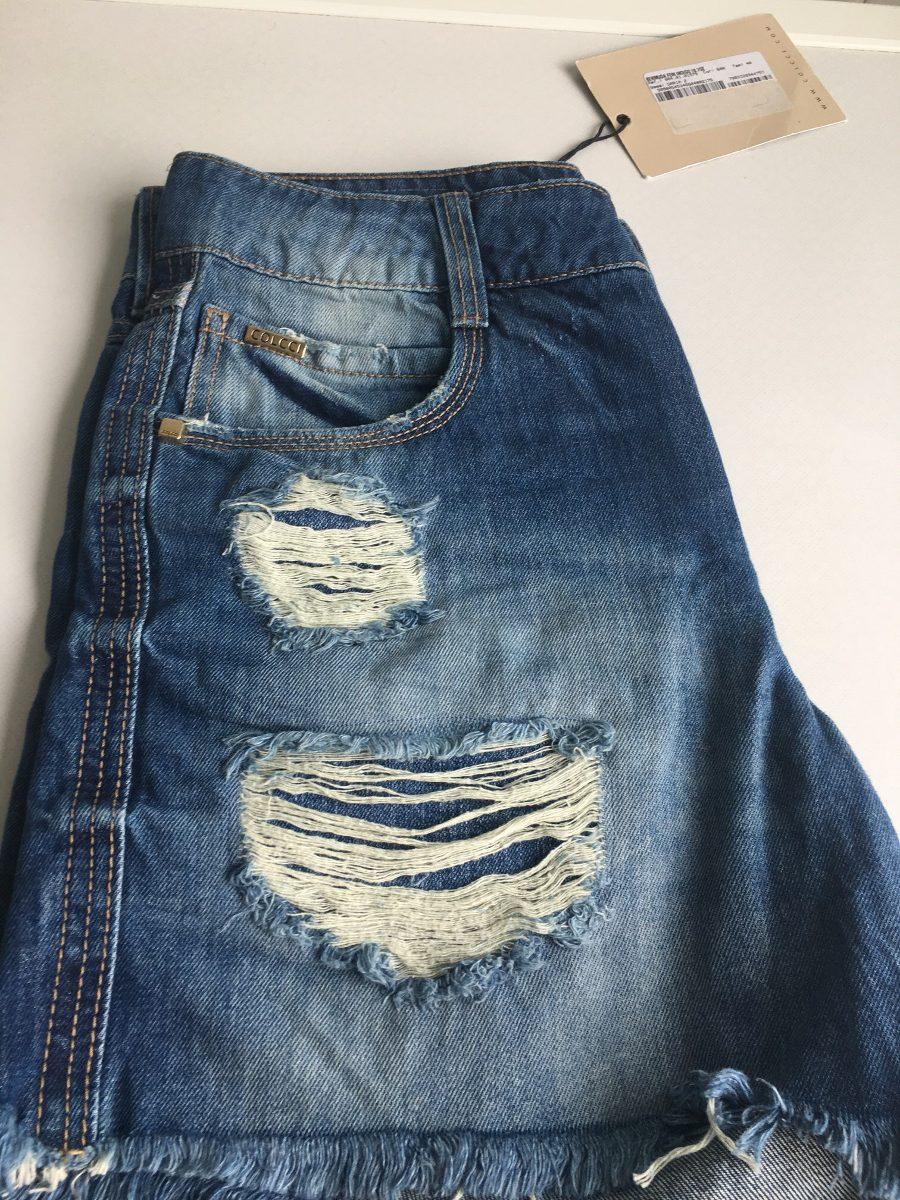 19a2c7111 Shorts Colcci Novo - R$ 140,00 em Mercado Livre