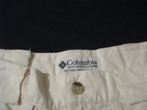shorts columbia talla s impecable