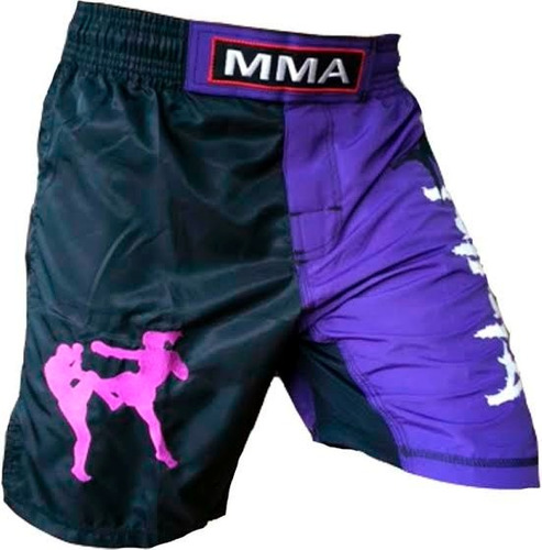 shorts de combate  para mma marca woldorf mn4