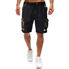974b19ef9430 Shorts De Hombre De La Rodilla Largo Verano Camo Shorts