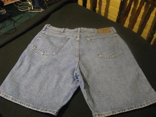 shorts de mesclilla wrangler talla w34