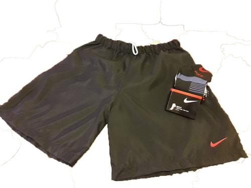 shorts deportivo x 3 + 3 pares medias, envios gratis !!