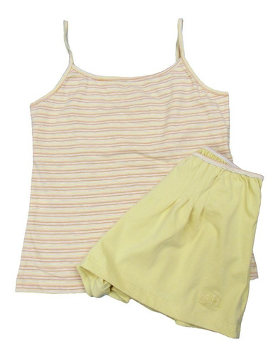 shorts doll / baby doll feminino algodão rafaela