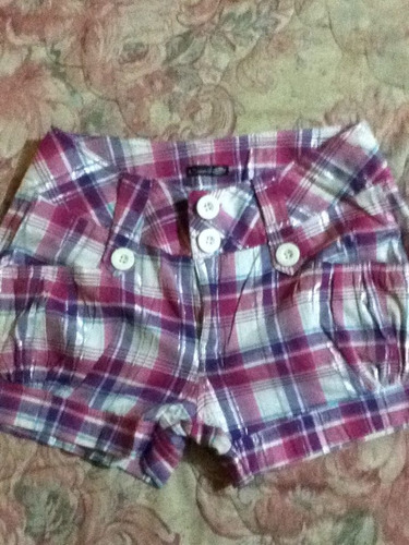 shorts en colores a precio de infarto