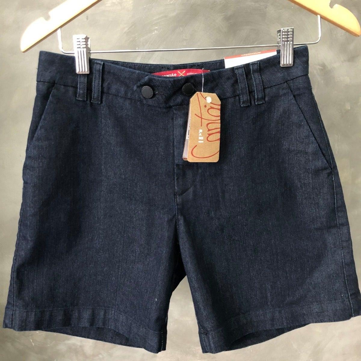 2261fb60f Shorts Feminino Cantão Jeans Oferta 014 - R$ 173,00 em Mercado Livre