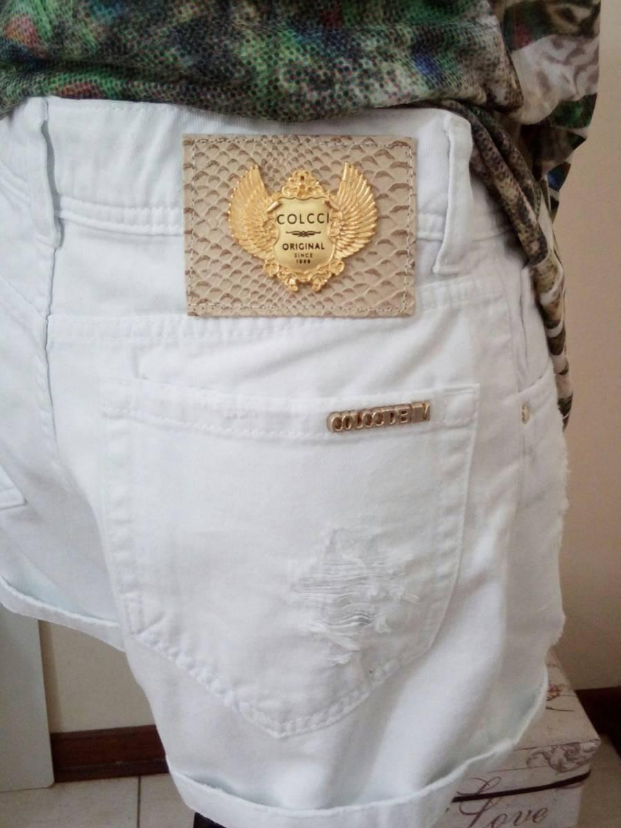 6d8ae0b07 Shorts Feminino Colcci Luxo Blogueira/instagram - R$ 92,00 em ...