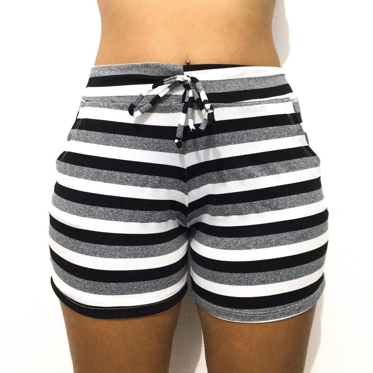 fe926fee04 shorts feminino moda praia piscina com bolso. Carregando zoom.