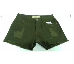 2398404534 Short Militar Feminino - Shorts para Feminino Verde-musgo com o Melhores  Preços no Mercado Livre Brasil