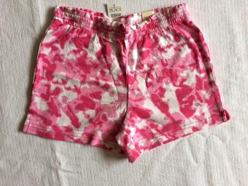 shorts infantil feminino the children's place 6/7 anos
