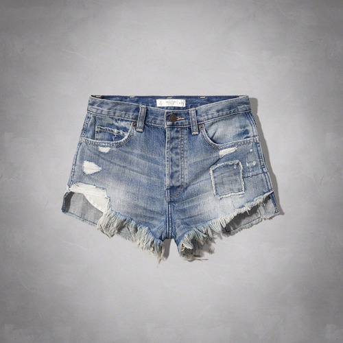 shorts infantil tamanho 00 abercrombrie
