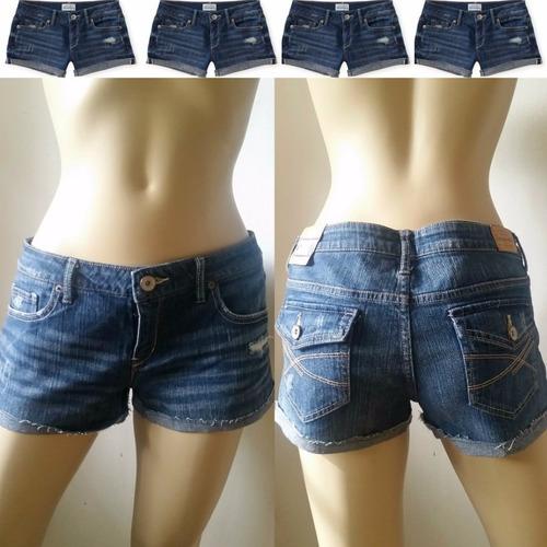 shorts jean denim para damas. aeropostale.