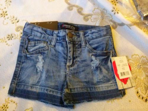 shorts jean niñas