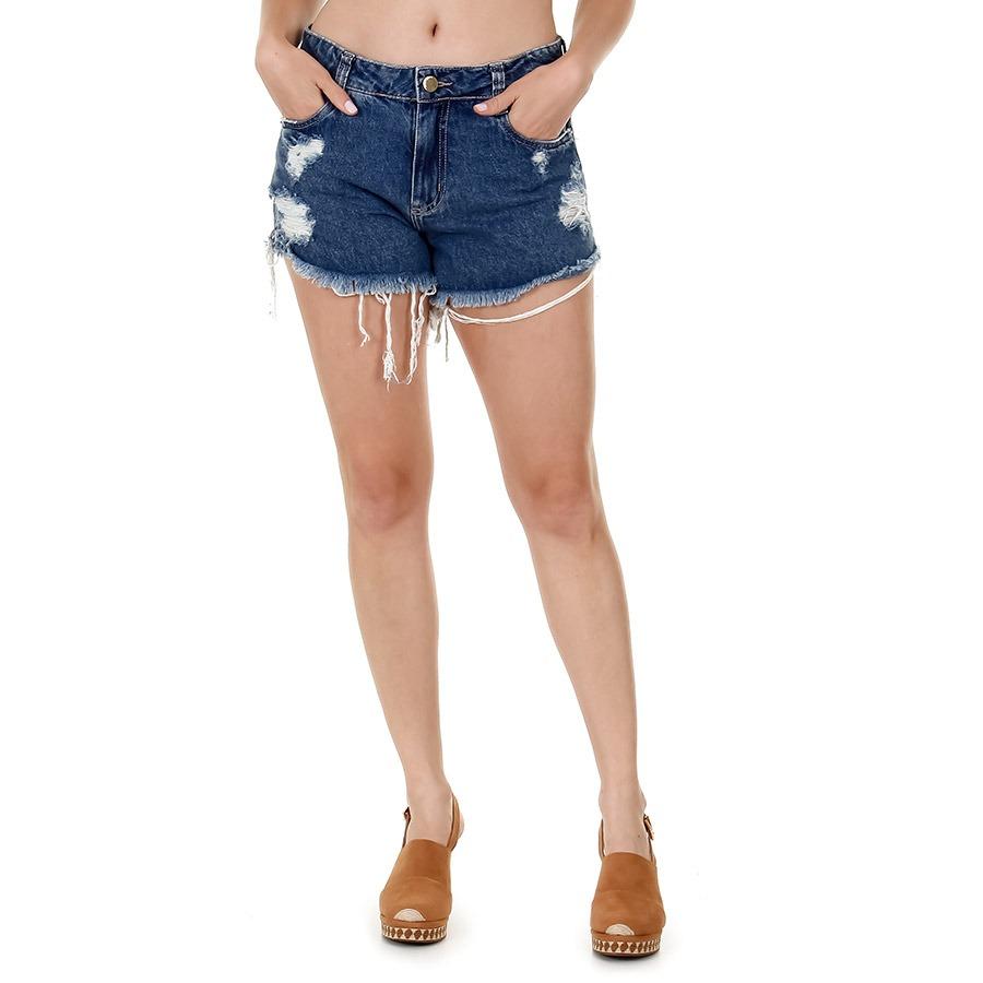 05da1157d5d05 Shorts Jeans Boyfriend Feminino Sawary - R$ 139,99 em Mercado Livre