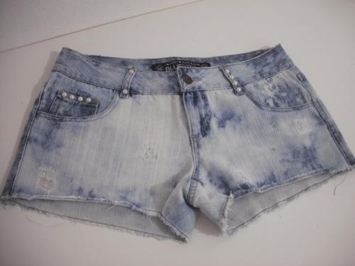 shorts jeans curto tam 38 usado bom estado blue steel