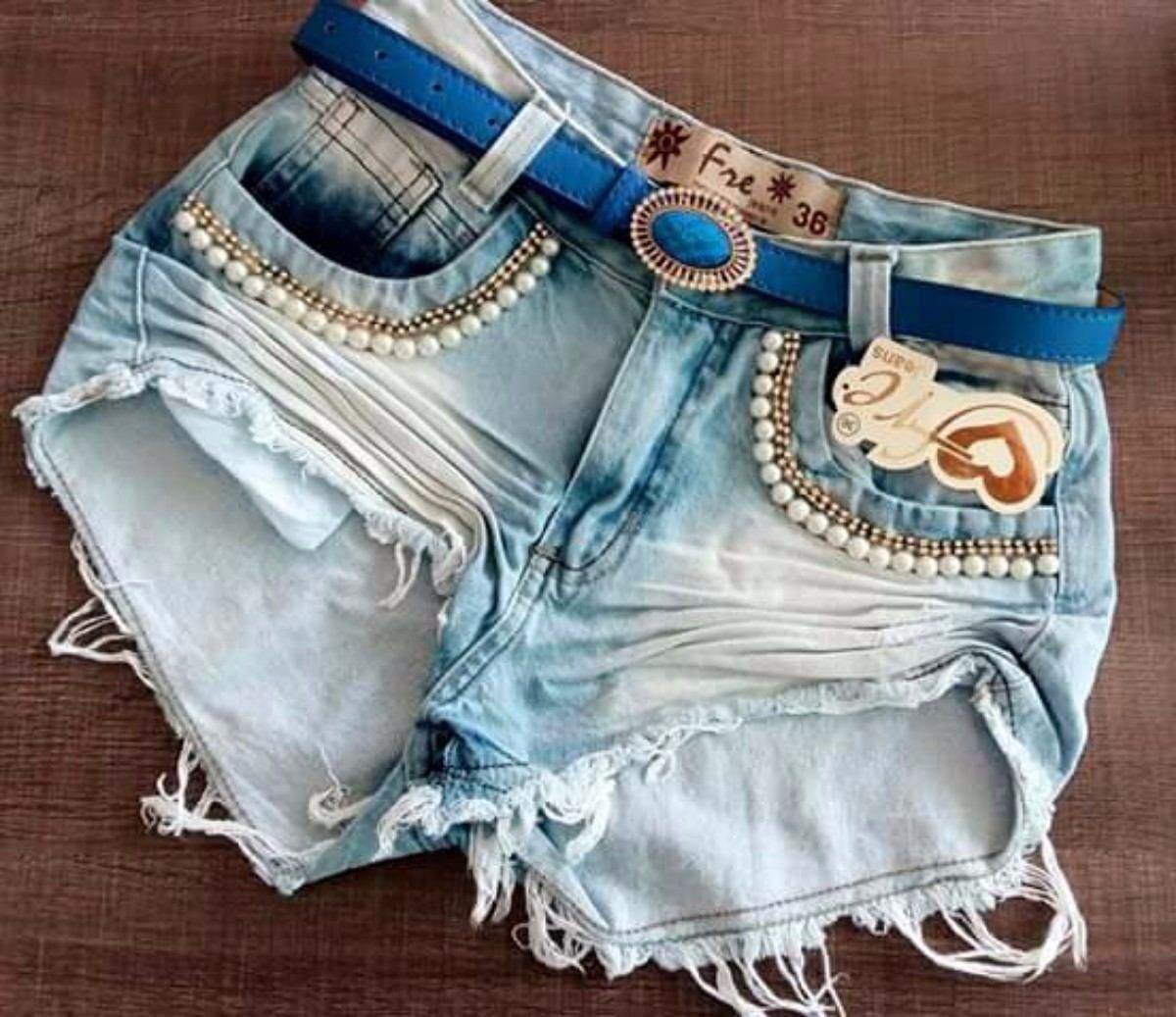 Shorts Jeans Feminino Hot Pants Atacado Revenda 10 ...