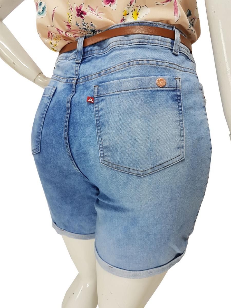 1e5aa7b0a6 Shorts Jeans Plus Size Feminino Tamanhos Grandes 44 Ao 58 - R  94