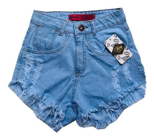 shorts jeans feminino destroyed hot pants estilo anitta