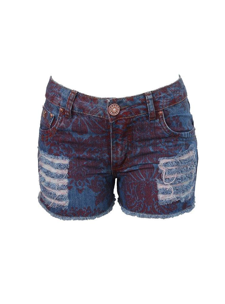 7843f4574 shorts jeans feminino floral boyfriend sodato - retook jean. Carregando zoom .