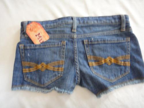 shorts jeans importado original novo