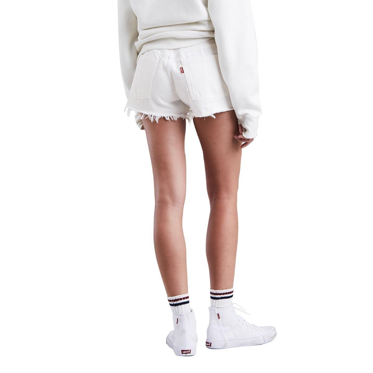shorts jeans levis 501 altered zip branco. Carregando zoom. df826ddd8f8