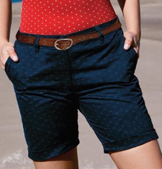 471b445251 Shorts Largos Azul Y Beige Para Mujer 2019 -   549.00 en Mercado Libre