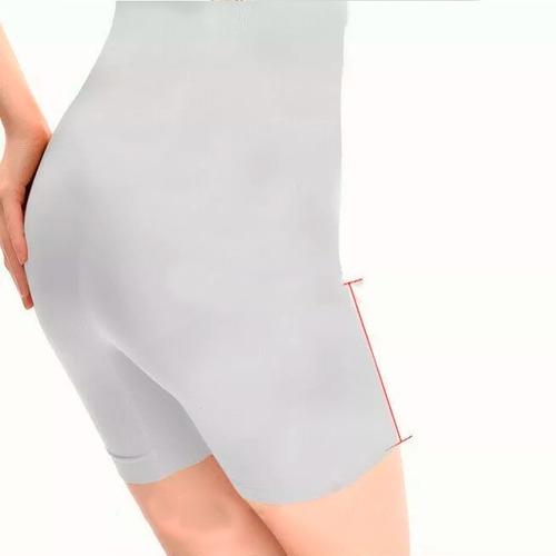 shorts levanta bumbum e quadril cintura alta modelador supl